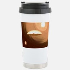 A Flat Earth vintage Travel Mug