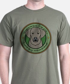 Love My Weim T-Shirt