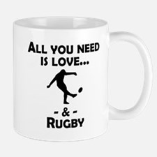 Love And Rugby Mugs