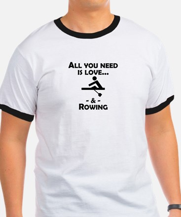 Love And Rowing T-Shirt