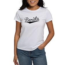 Barista, Retro, T-Shirt