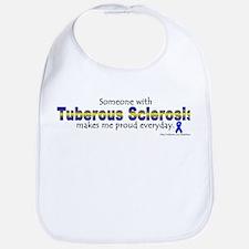 Tuberous Sclerosis Pride Bib