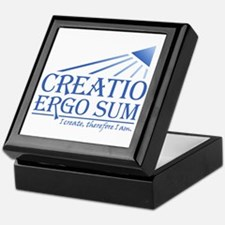 Creatio Ergo Sum Keepsake Box