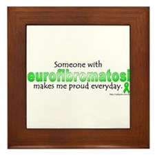 Neurofibromatosis Pride Framed Tile