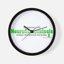Neurofibromatosis Pride Wall Clock