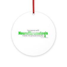 Neurofibromatosis Pride Ornament (Round)