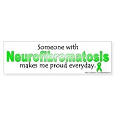 Neurofibromatosis Pride Bumper Car Sticker