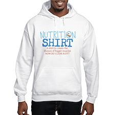 Nutrition Shirt Hoodie