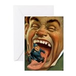 Vintage Cop Greeting Cards (Pk of 10)