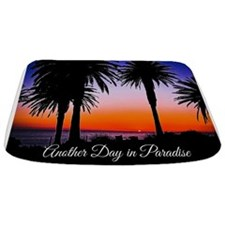 Another Day in Paradise Bathmat