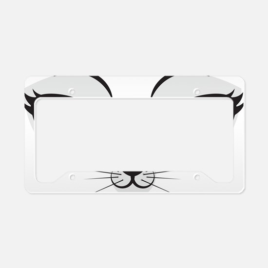 Meow License Plate Holder