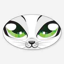 Meow Sticker (Oval)