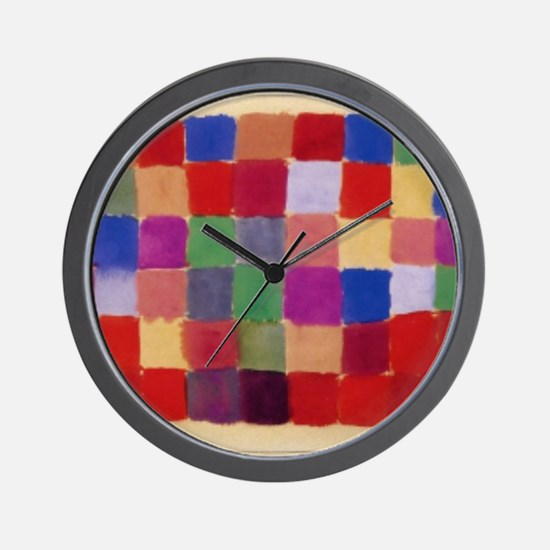 Klee - Harmony of Southern Flora Wall Clock