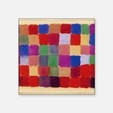 "Klee - Harmony of Southern  Square Sticker 3"" x 3"""