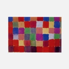 Klee - Harmony of Southern Flora Rectangle Magnet