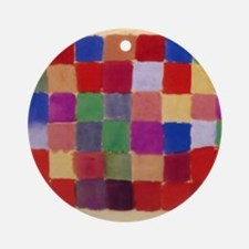 Klee - Harmony of Southern Flora Round Ornament