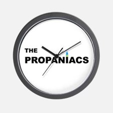 The Propaniacs Wall Clock