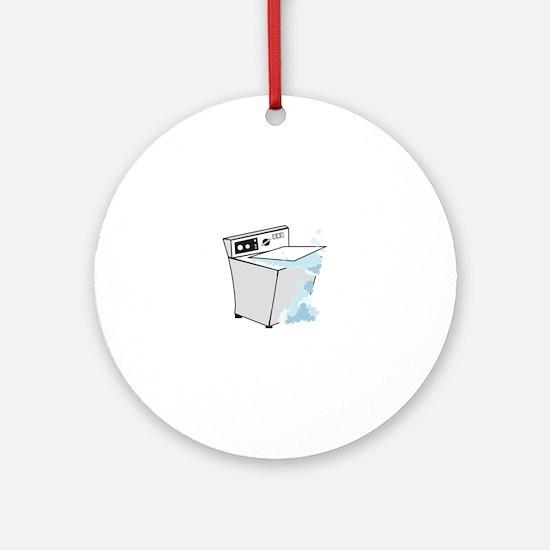 washing machines Ornament (Round)