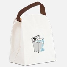 washing machines Canvas Lunch Bag