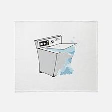 washing machines Throw Blanket