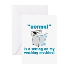 Normal is a setting on my washing machine! Greetin