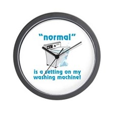 Normal is a setting on my washing machine! Wall Cl