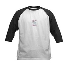 its just easier if mom does it! Baseball Jersey