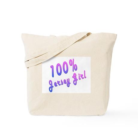 100% Jersey Girl Tote Bag