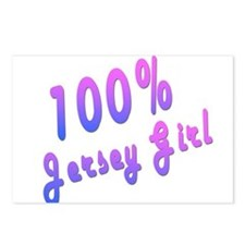 100% Jersey Girl Postcards (Package of 8)