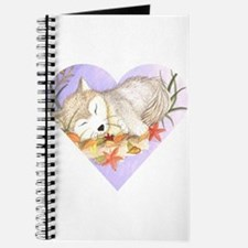 Little wolf sleeping Journal