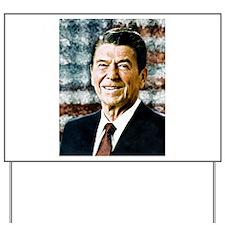 The Great President Ronald Reagan Yard Sign