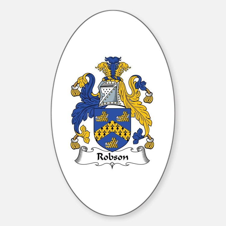 Robson Oval Decal