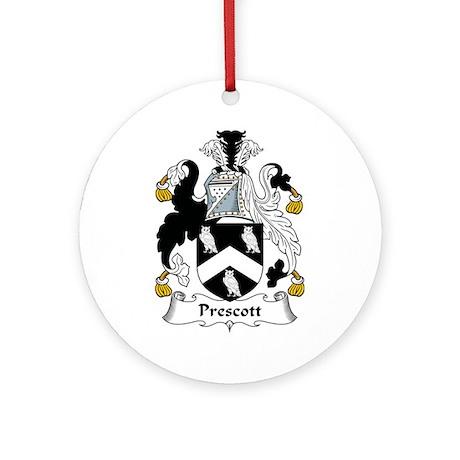 Prescott Ornament (Round)