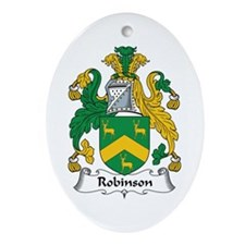 Robinson Oval Ornament