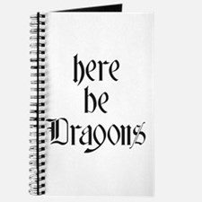Here Be Dragons 001a Journal