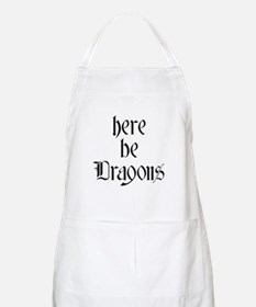 Here Be Dragons 001a Apron