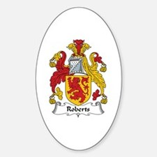 Roberts (Wales) Oval Decal