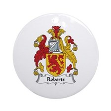 Roberts (Wales) Ornament (Round)