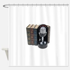 StoryBroadcasts042211.png Shower Curtain