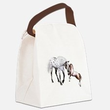 Horses Love Forever Canvas Lunch Bag