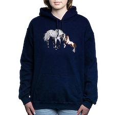 Horses Love Forever Women's Hooded Sweatshirt