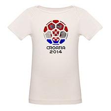 Croatia World Cup Soccer Ball (Football) T-Shirt