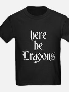 Here Be Dragons 001b T-Shirt
