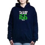166 MHz Turbo Mode Women's Hooded Sweatshirt