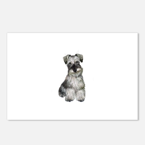 Schnauzer (V) Postcards (Package of 8)