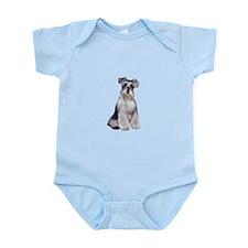 Schnauzer (Nat) Infant Bodysuit