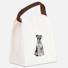 Schnauzer (Nat) Canvas Lunch Bag