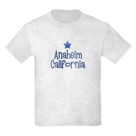 Anaheim California Vintage Kids Light T-Shirt