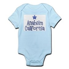 Anaheim California Vintage Infant Bodysuit