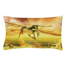 Fire Dragon Pillow Case